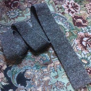 Burberry Woven Silk Linen Tie